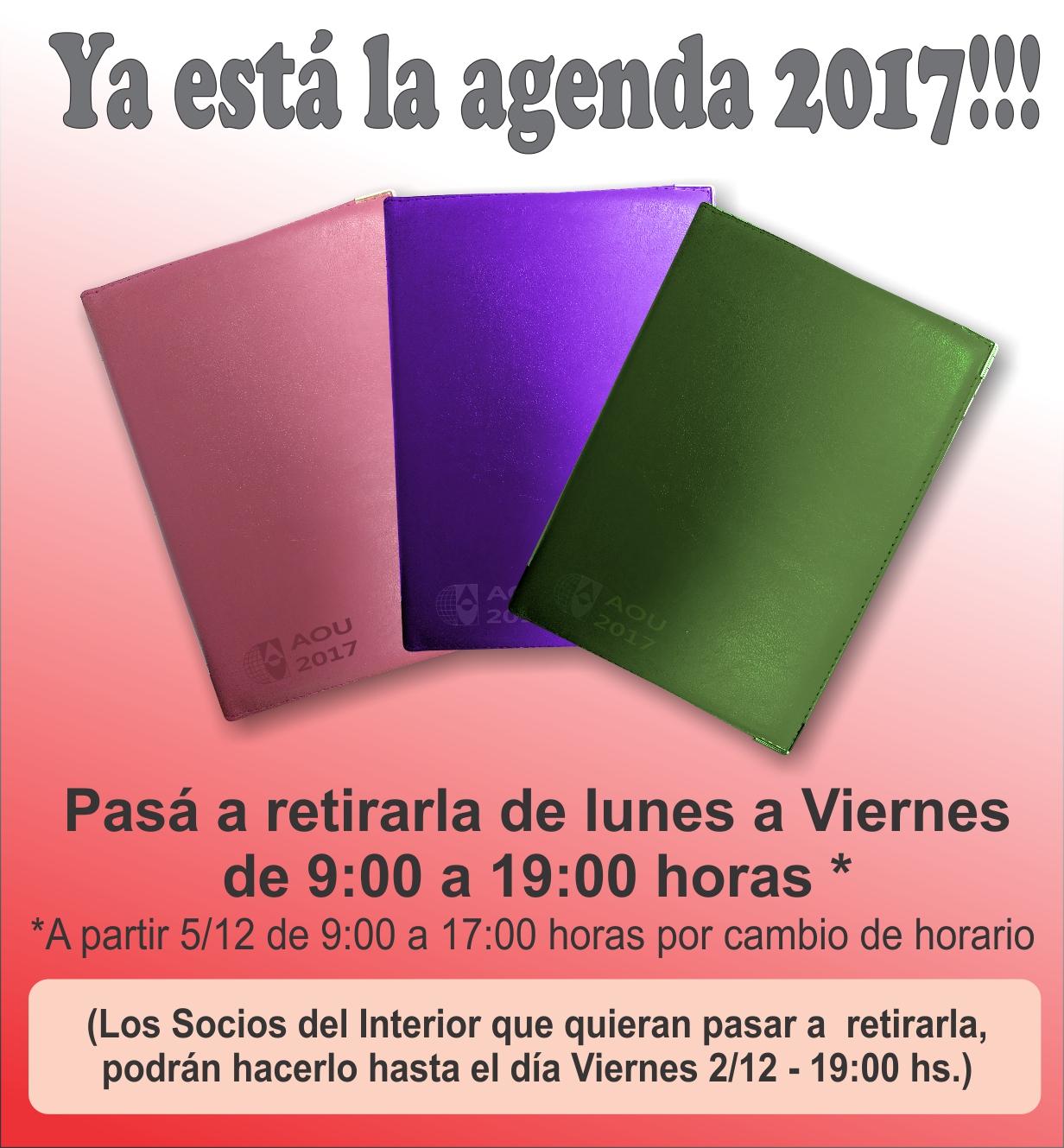 Agenda Socios Interior