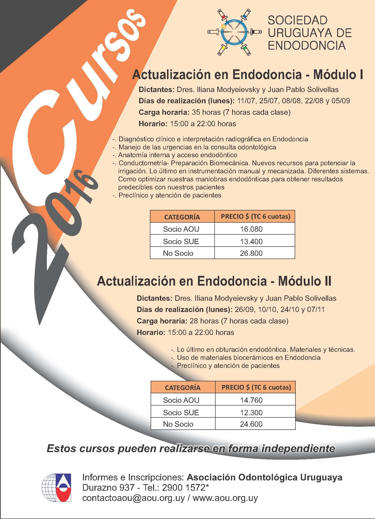 Cursos Endodoncia