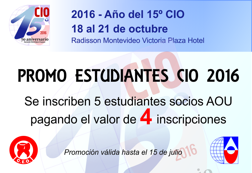 Promo CIO Estudiantes